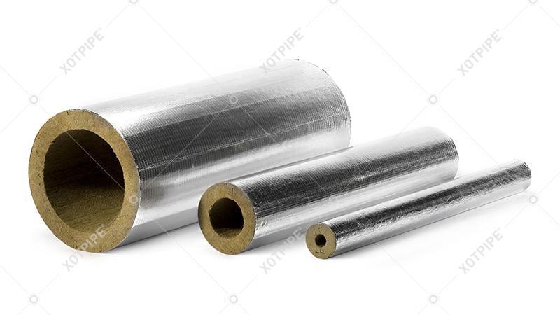 Цилиндры Хотпайп  кашированные армированной алюминиевой фольгой