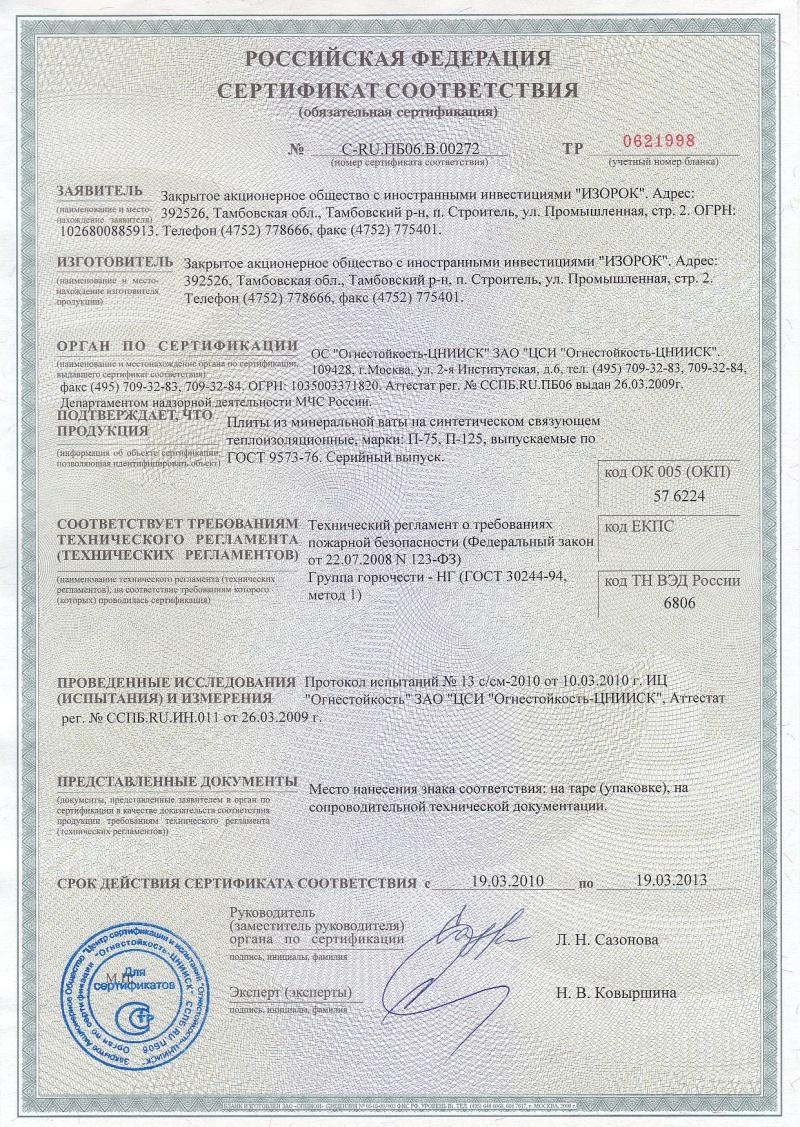 Минплита гост 9573-96 сертификат росстройсертификация