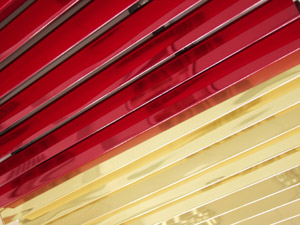 V-образная рейка реечного потолка S-дизайна
