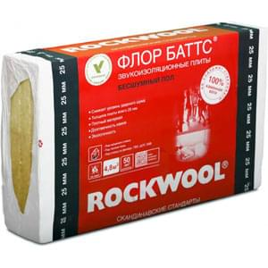 Rockwool Floor Batts